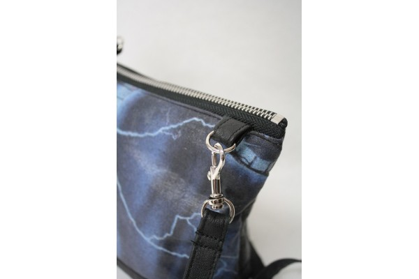 Mini Sac à Main en cuir  Metallica