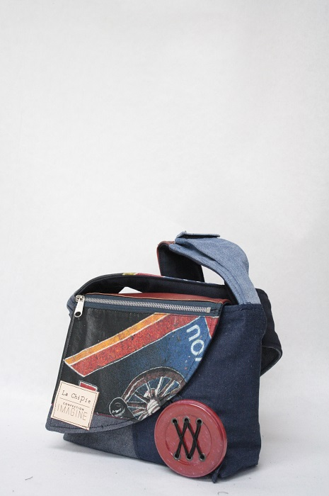 Sac à Main en denim  AC/DC