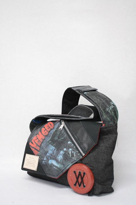Sac à Main en denim  Avenged Sevenfold