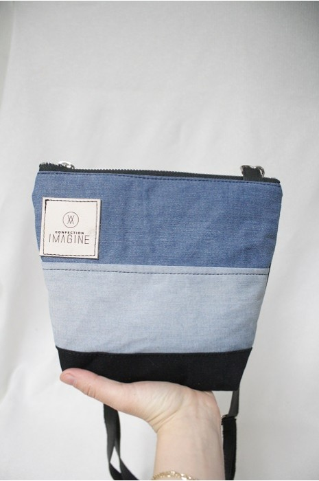 Mini Sac à Main bandoulière en denim / 02