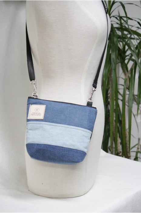 Mini Sac à Main bandoulière en denim / 03