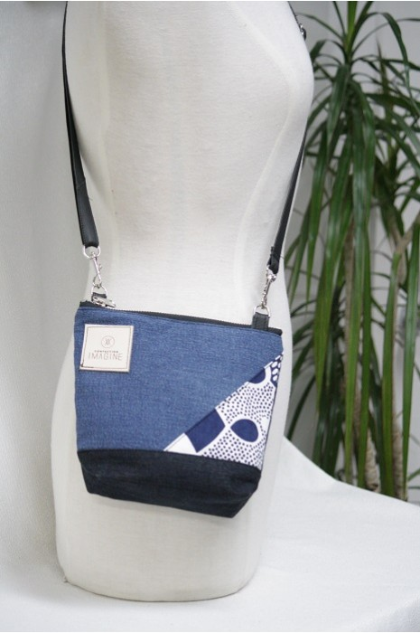 Mini Sac à Main bandoulière en denim / 10