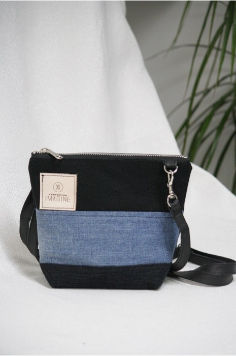 Mini Sac à Main bandoulière en denim / 11