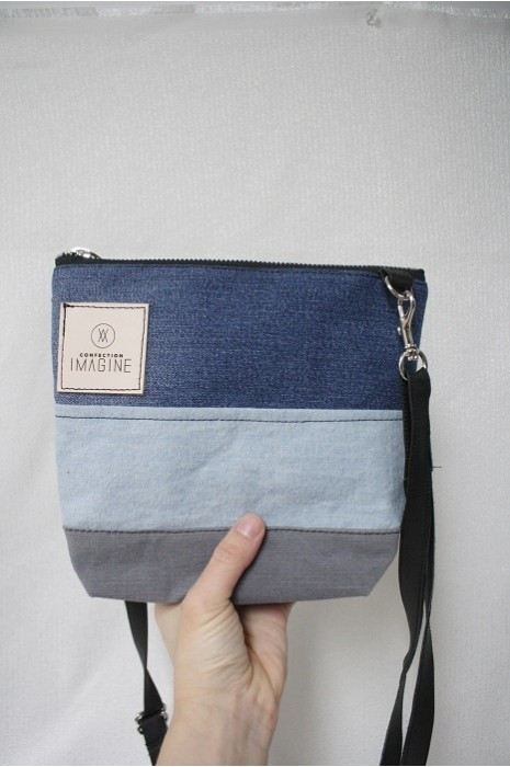 Mini Sac à Main bandoulière en denim / 12