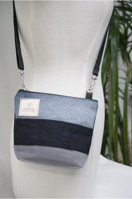 Mini Sac à Main bandoulière en denim / 13