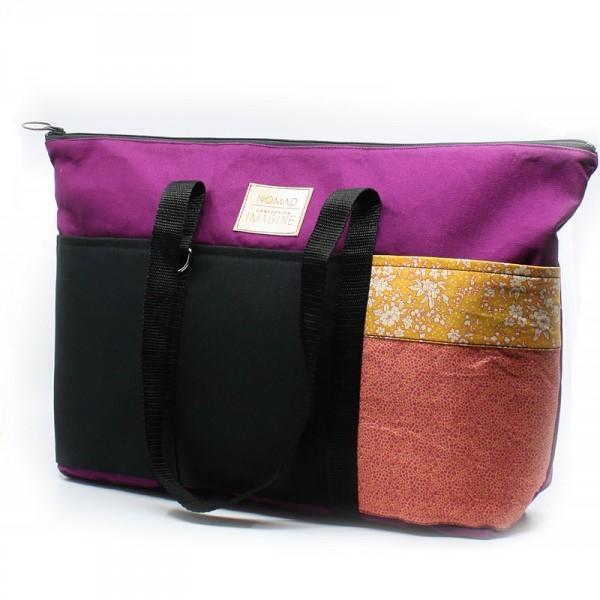 Le Nomad 09- Grand sac fourre-tout avec fermeture éclair
