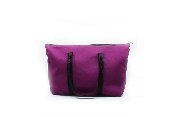 Grand sac fourre-tout avec fermeture éclair / NO11