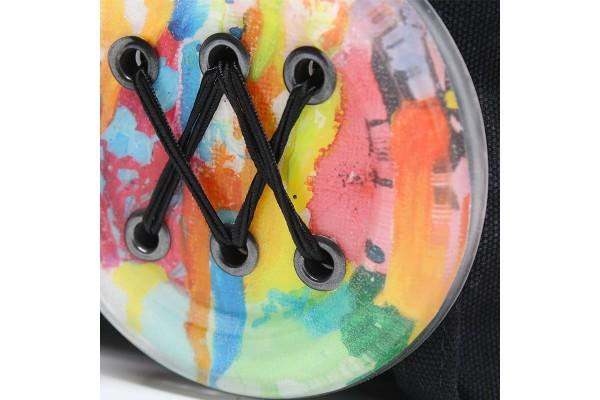 Sacoche à bandoulière en collaboration avec Créations Art'Vey / Zèbre