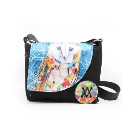 Chipie Édition Spéciale QuARTz | Magnifique sac à main avec chouette sur le rabat