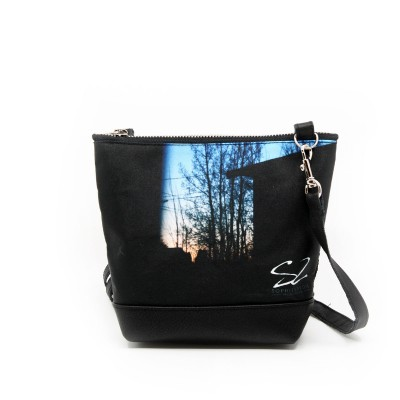Small shoulder bag featuring a work of Sophie Lavoie Photographer